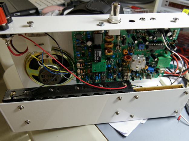 Mounted mkars80 pcb inside new custom-made case
